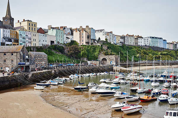 Tenby Harbour, Wales