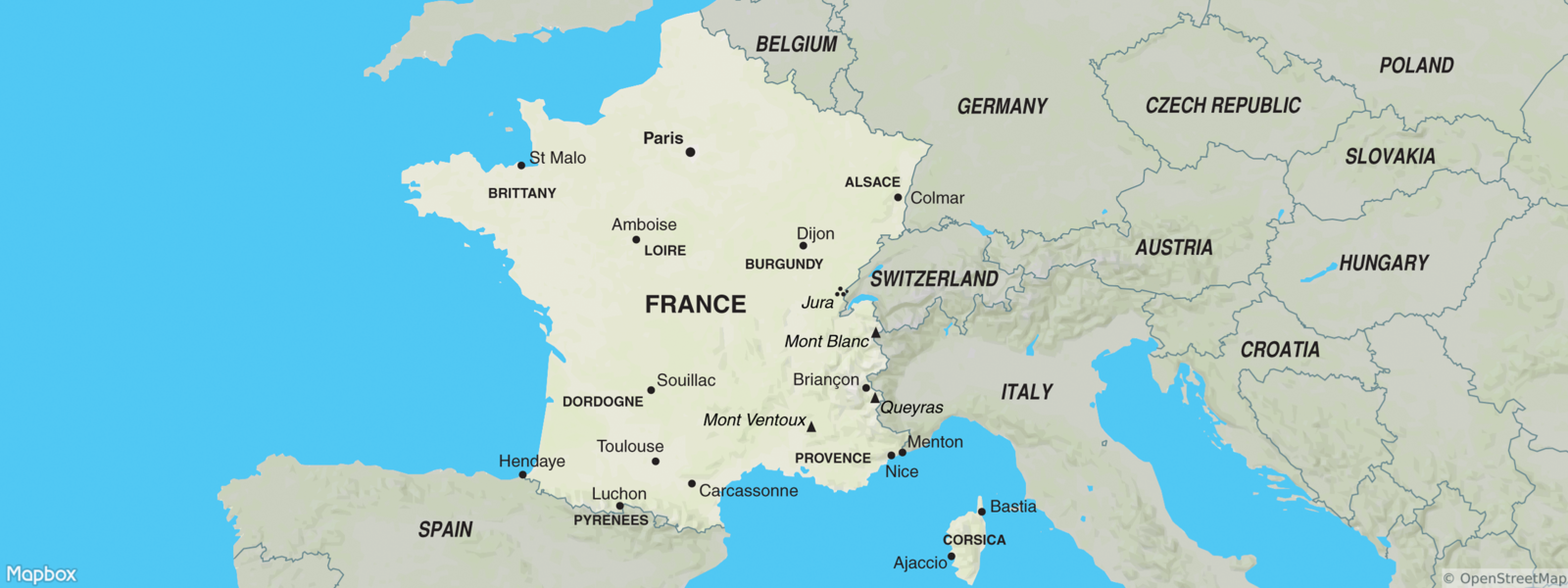 Amboise France Map.Trips To France France Trips Tours To France Exodus