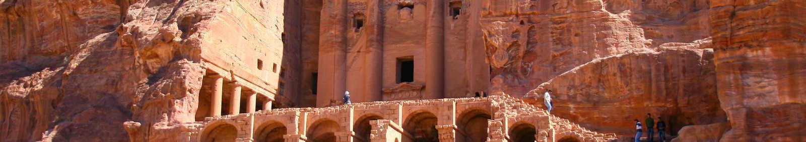 Remains of Nabatean civilisation, Jordan
