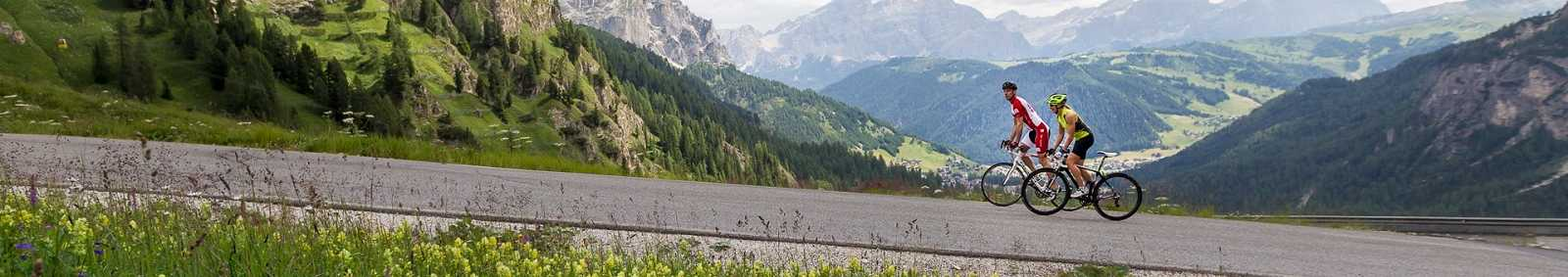 Cycling through the alps