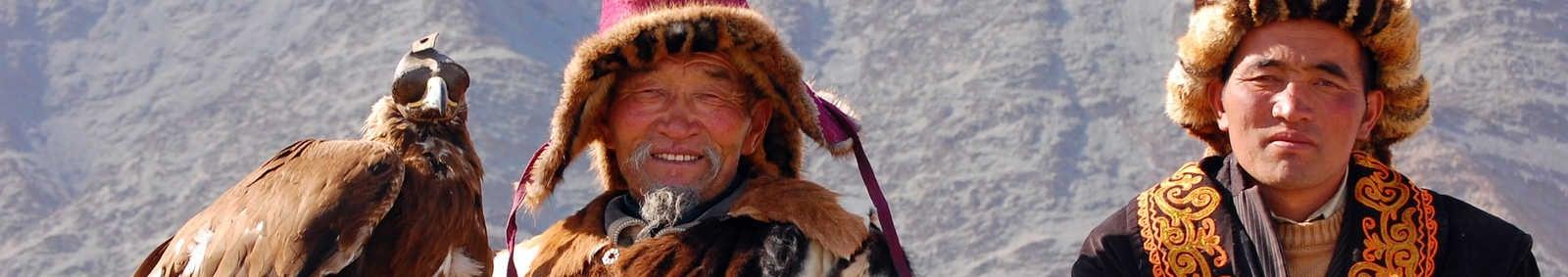 Kazakh eagle hunters