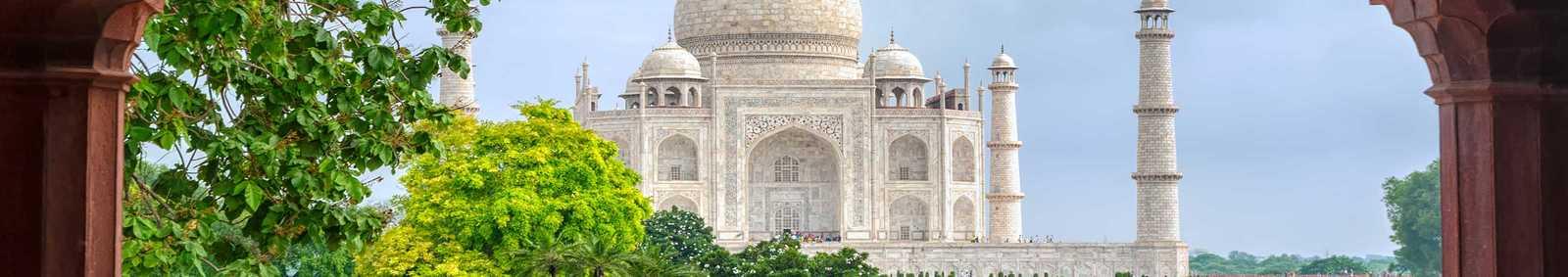 View of Taj Mahal