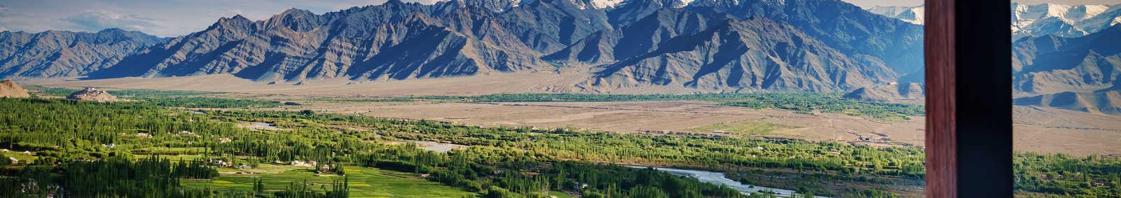 Ladakh window view