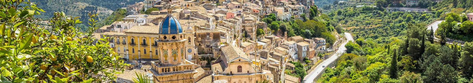 Ragusa Town, Italy