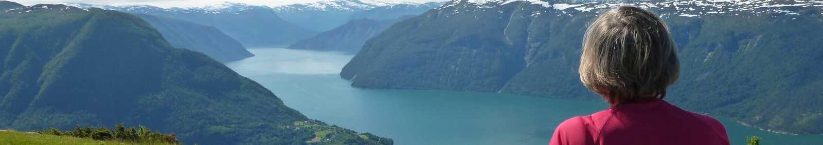 View from Molden Peak