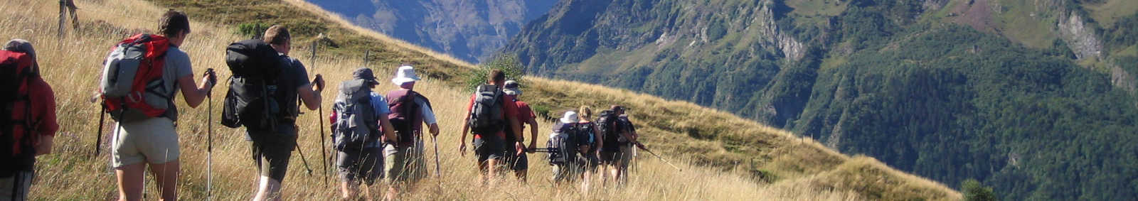 GR10 route in the Pyrenees