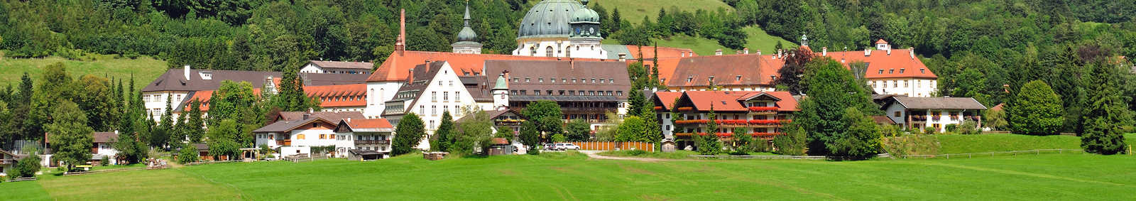 Ettal Monastery,Upper Bavaria,Germany