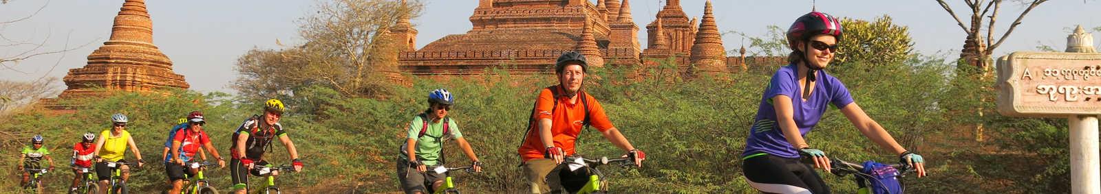 cycling in Burma