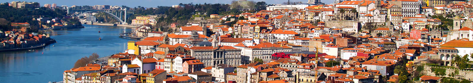 Panorama of Porto, Portugal