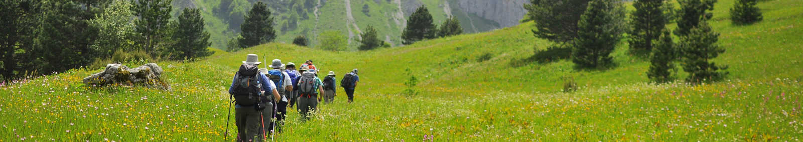 walking in Bosnia