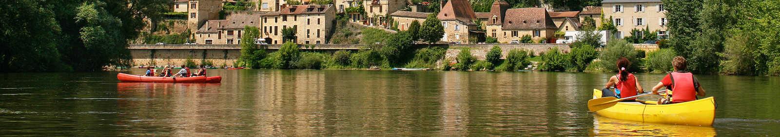 Kayaking in Dordogne