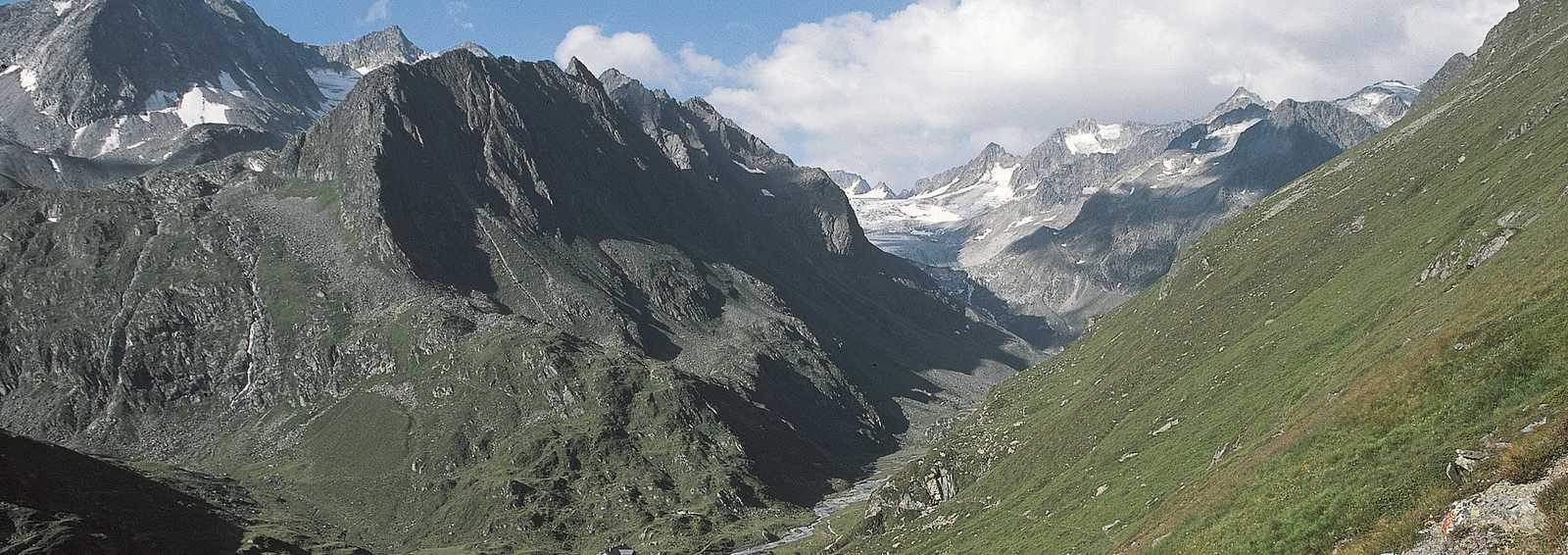 Trekking in the Tyrol, Austia