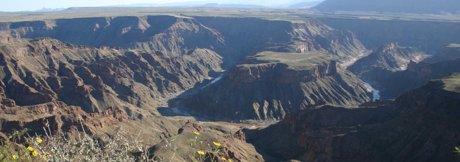 Fish River Canyon trek, Namibia