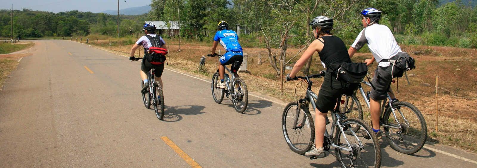 Cycling tour, Thailand