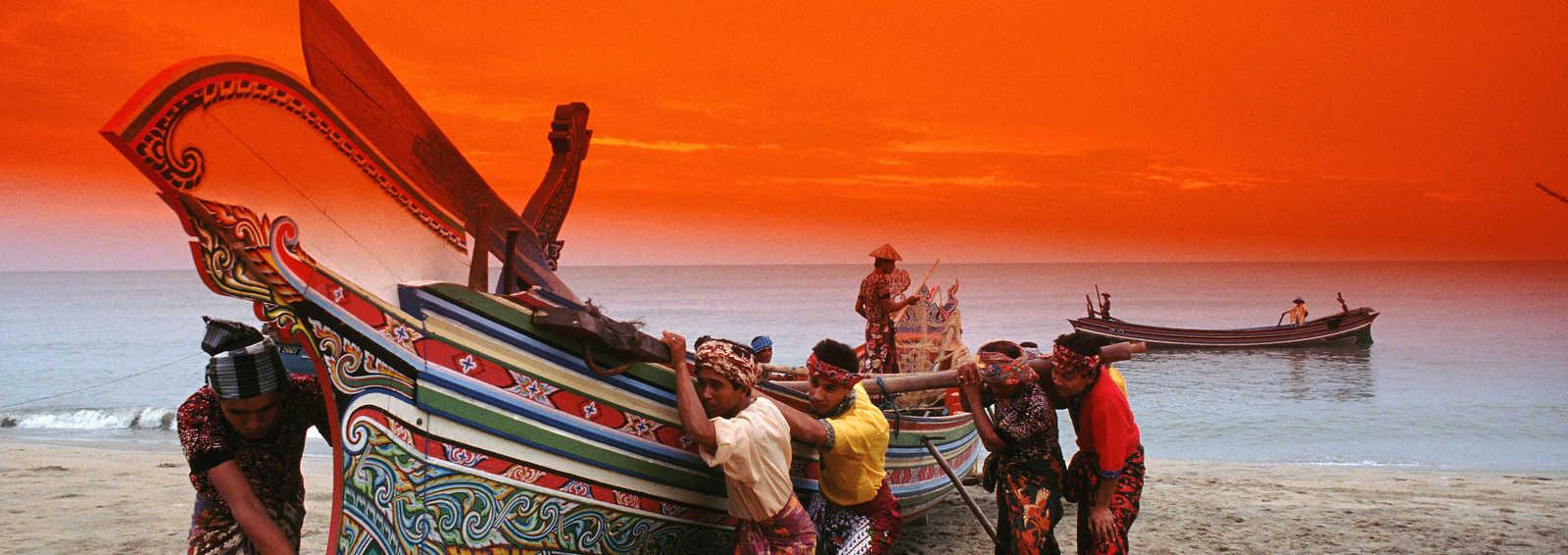 Traditional fishing boat, Malaysia