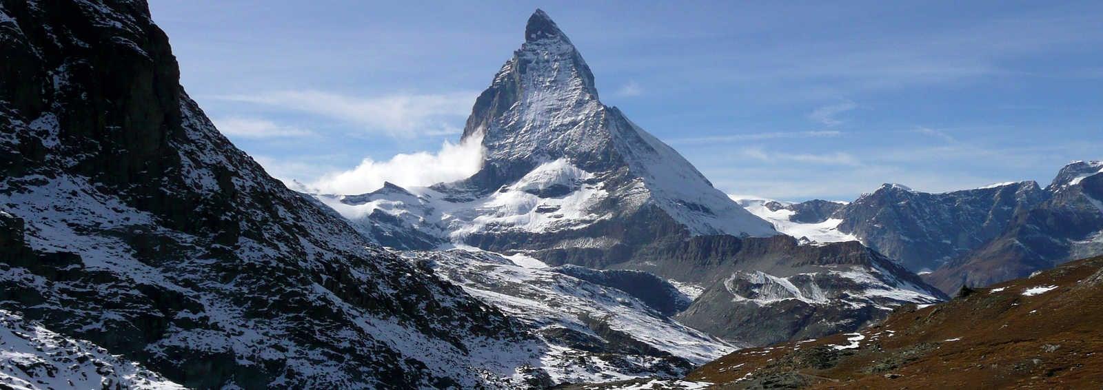 View of the Matterhorn, Switzerland
