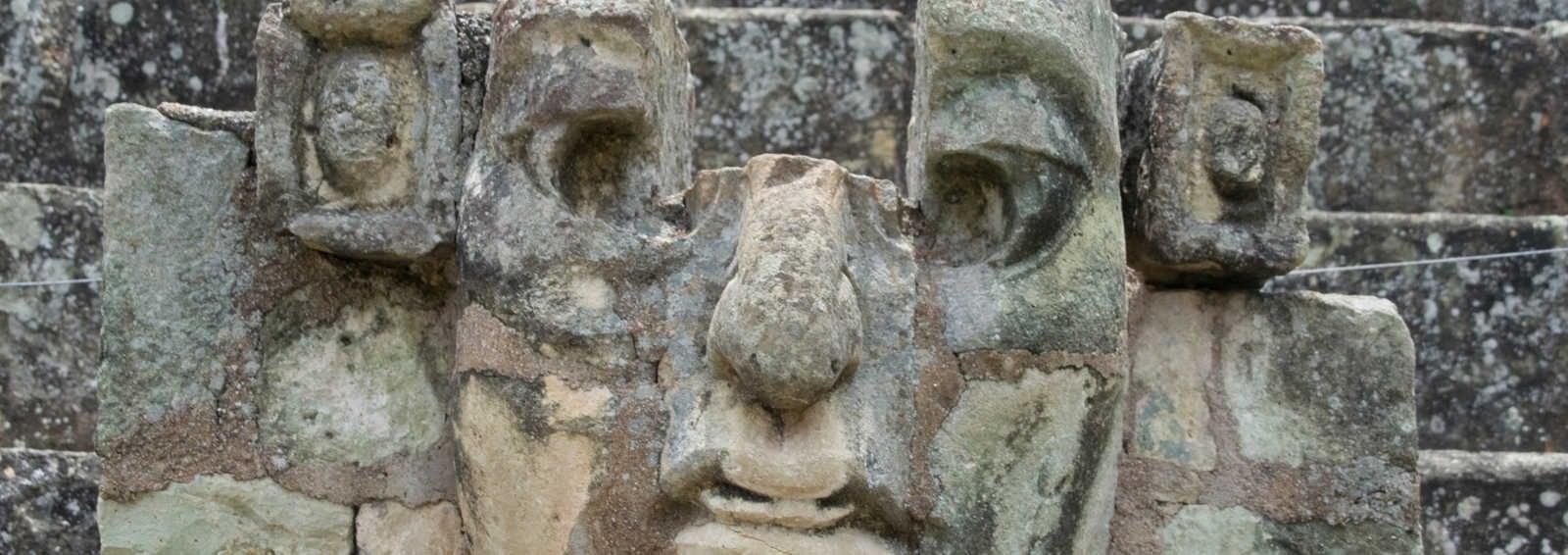Mayan head, Copan