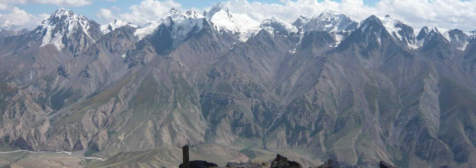 Kaindy Range, Tien Shan, Kyrgyzstan