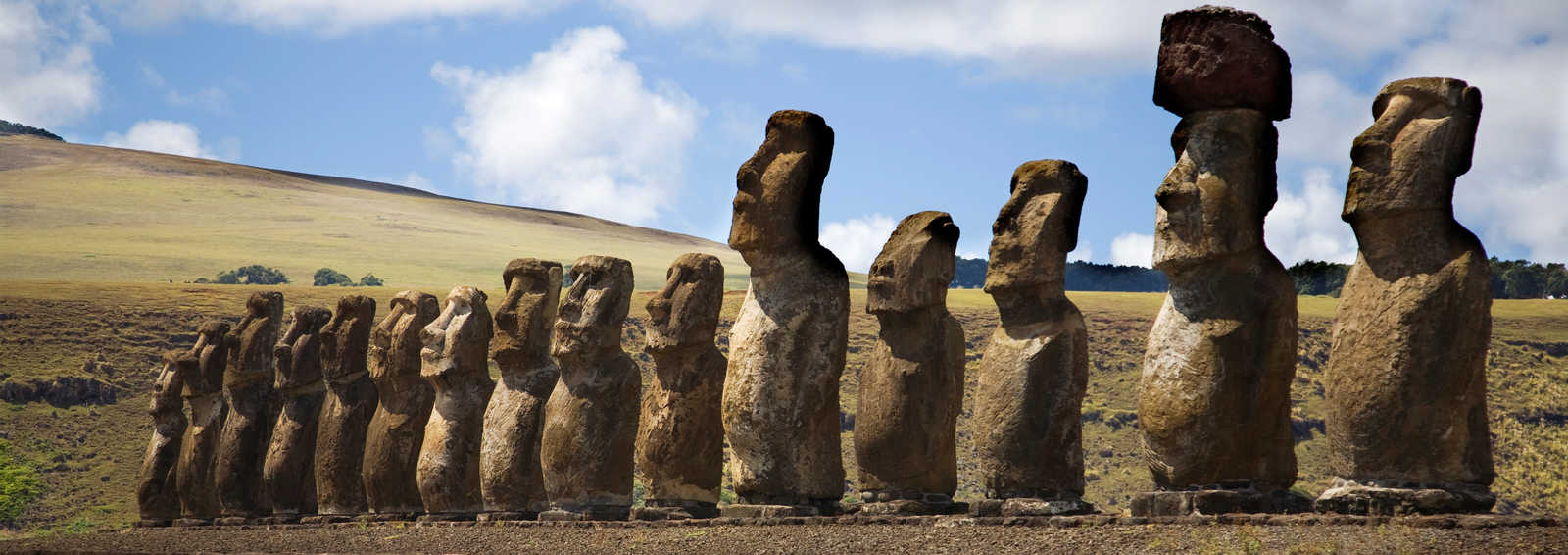 Statues at Easter Island