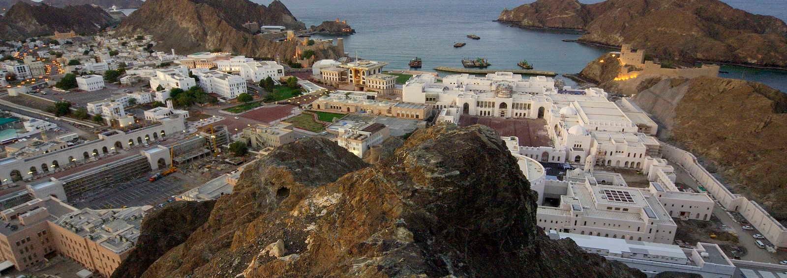 Old Palace Muscat, Oman