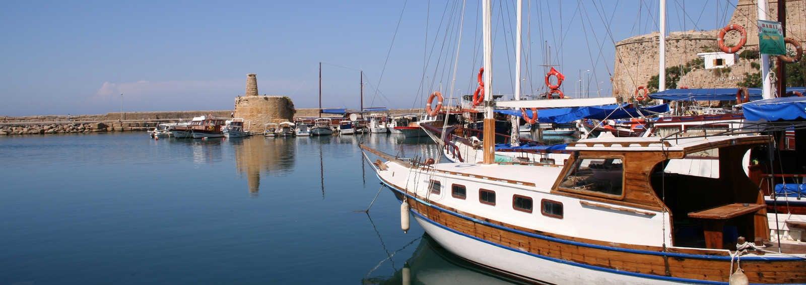 Kyrenia Harbour, Cyprus
