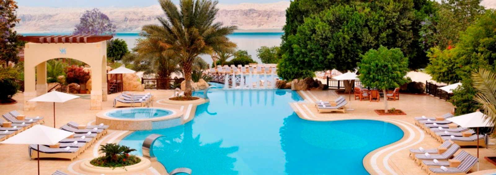The 5 star Marriott Dead Sea Resort, Jordan