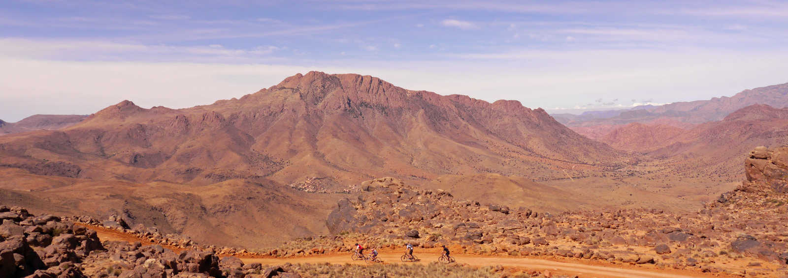 View from the Atlas Mountains, Morocco