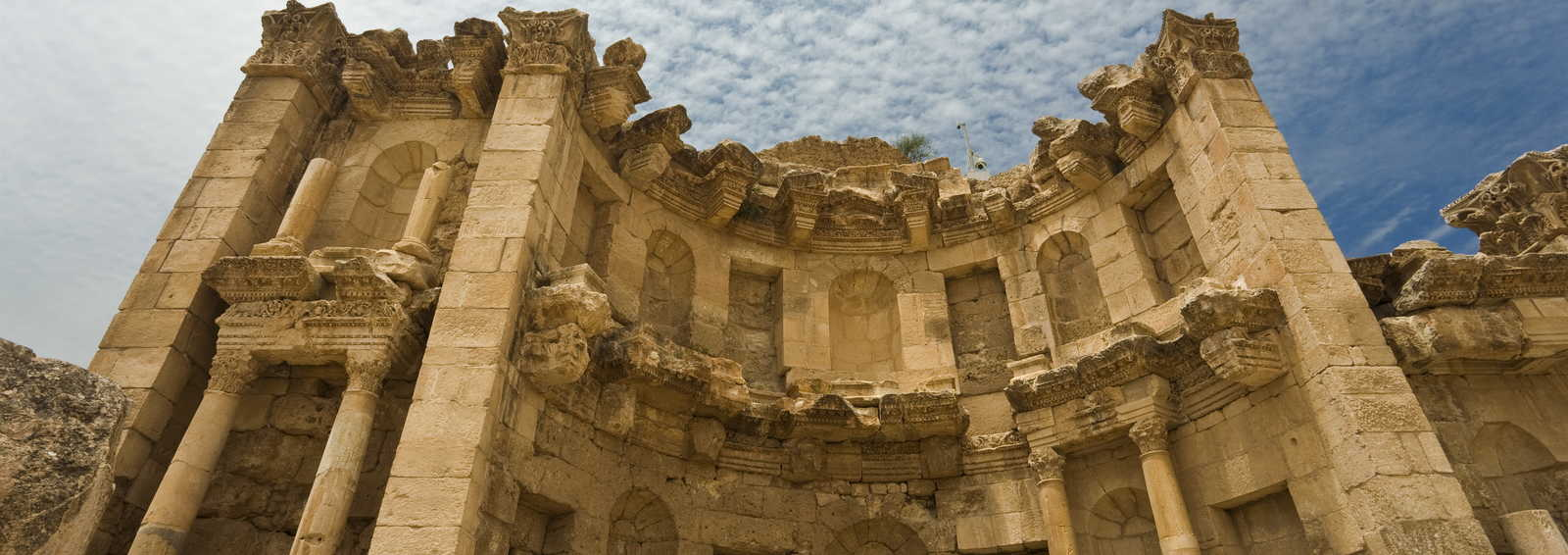 The Nymphaeum in Jerash