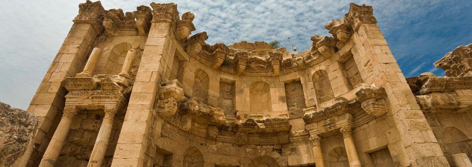 The Nymphaeum in Jerash