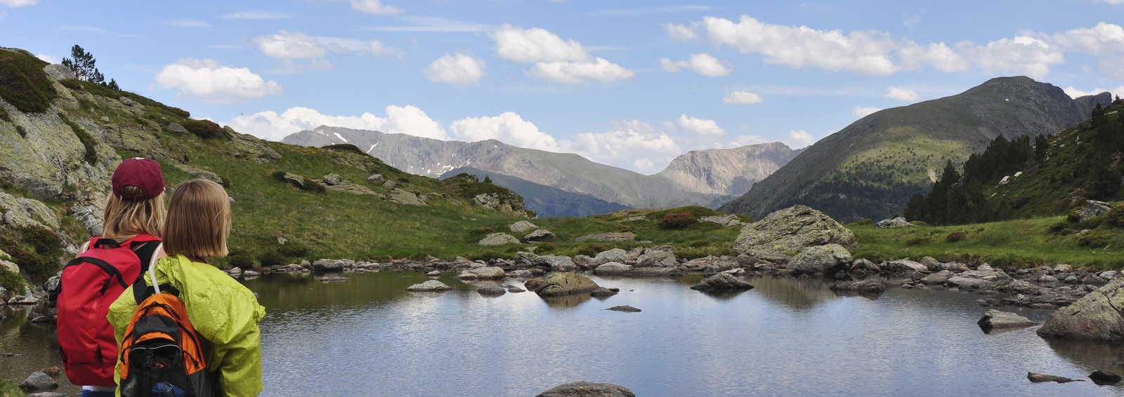 Lake in the Pyrenees, France