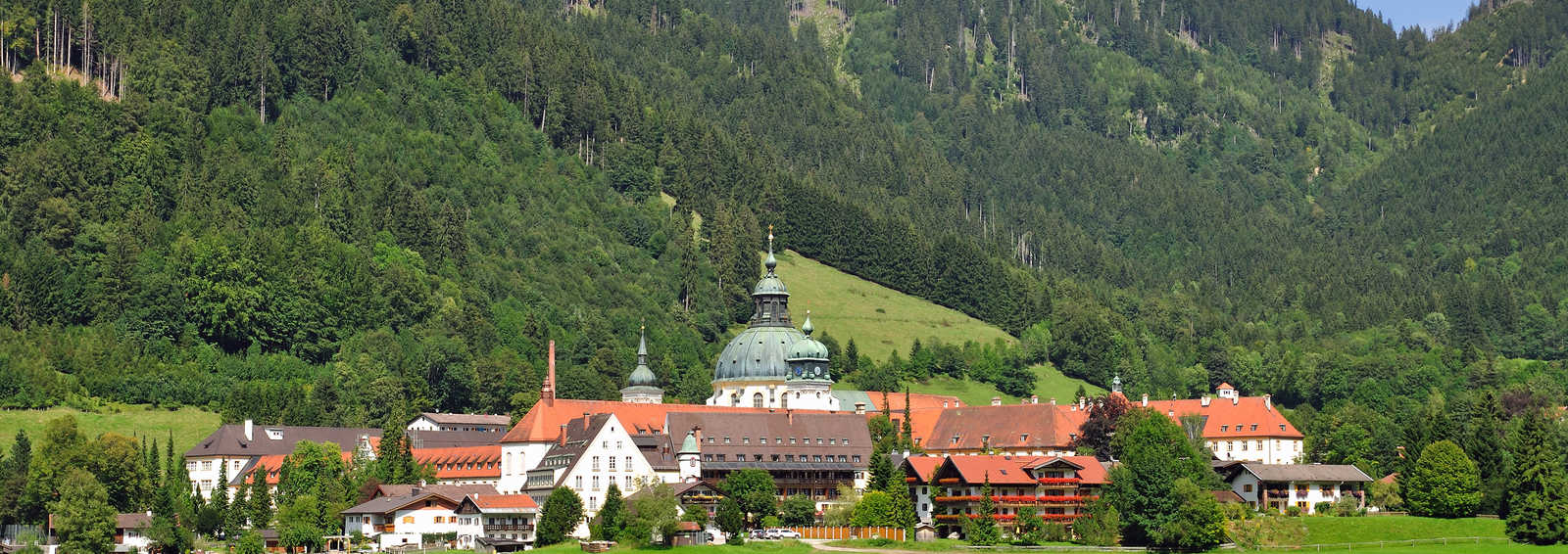 Ettal Monastery, Upper Bavaria, Germany