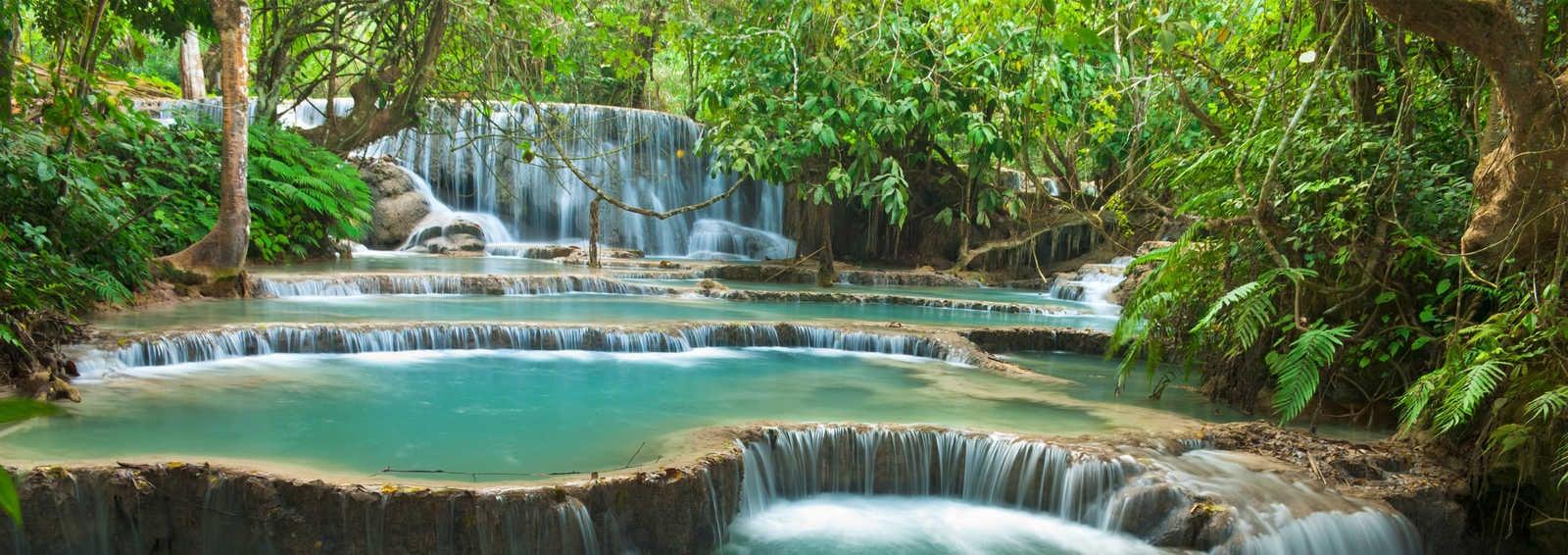 Kuang Si Waterfall, Luangprabang, Laos