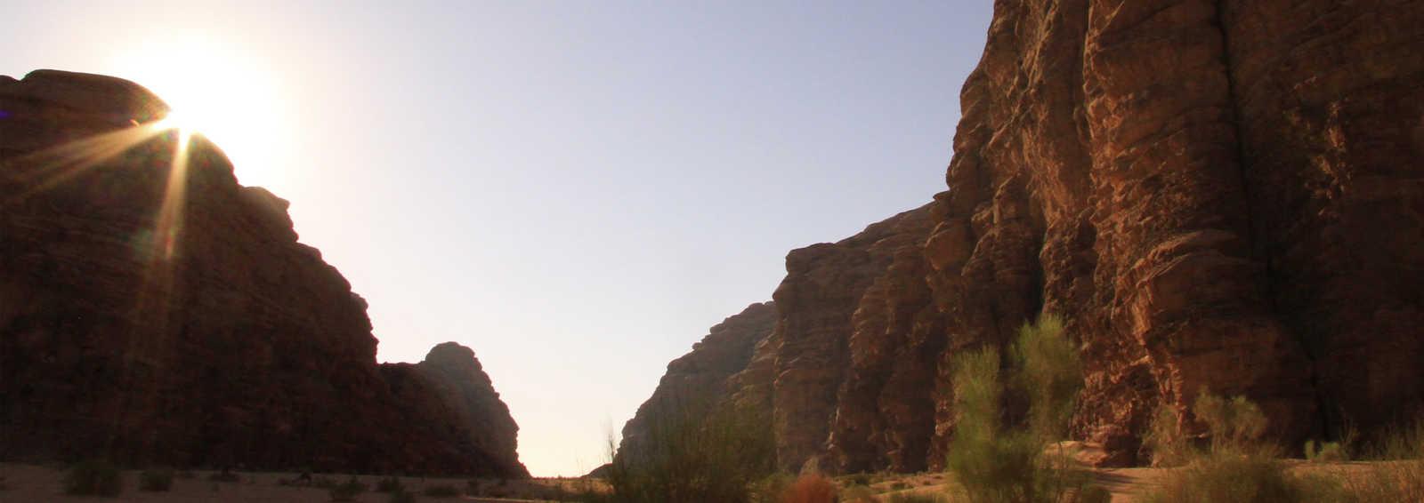 Sunrise at Wadi Rum, Jordan