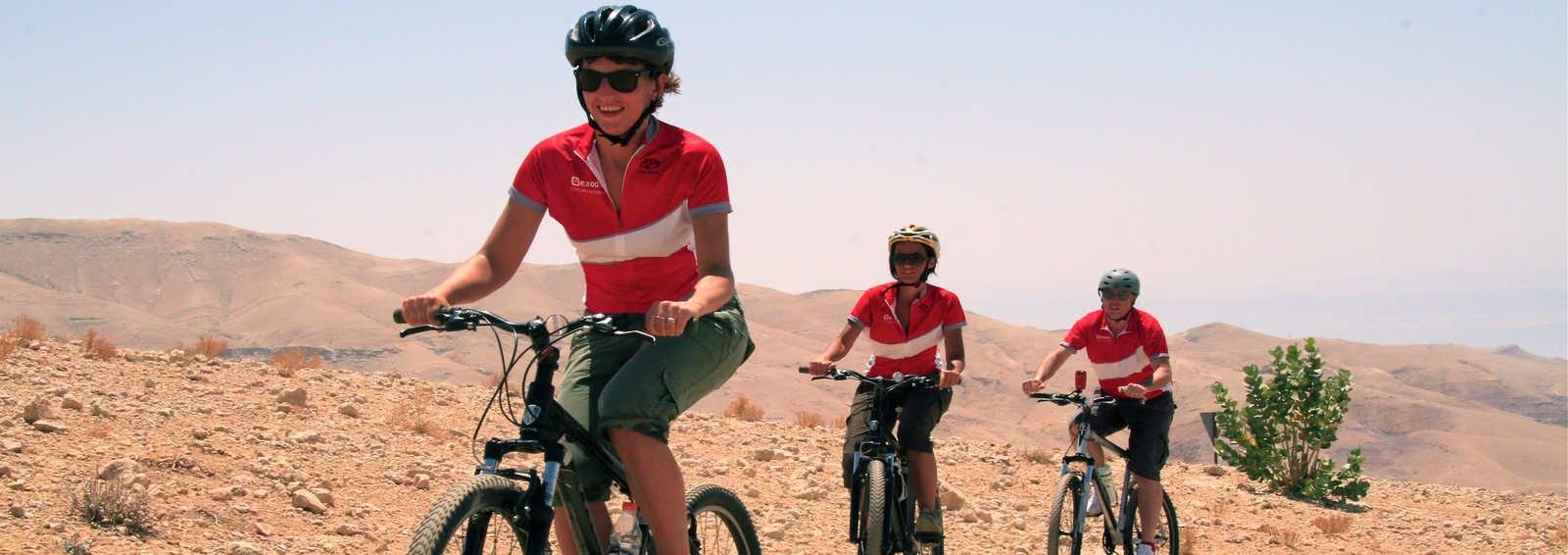 Mountain biking in Jordan