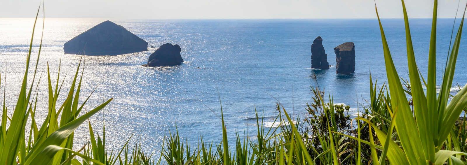 The coast of Sao Miguel, Azores