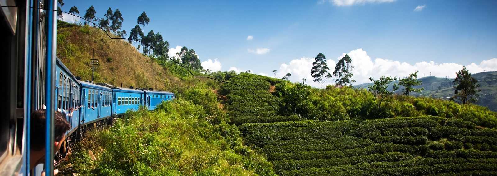 Train to Bandarawela, Sri Lanka