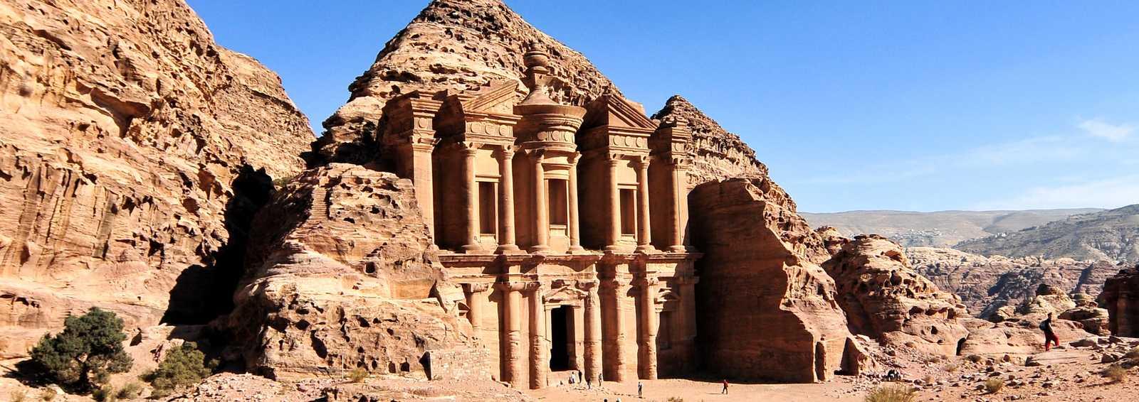 The Monastery at Petra, Jordan