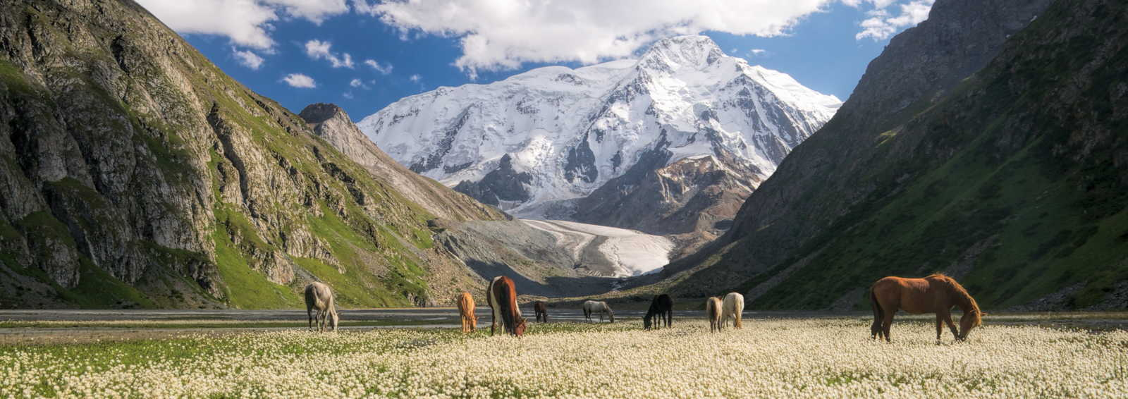 The Tien Shan Mountains, China