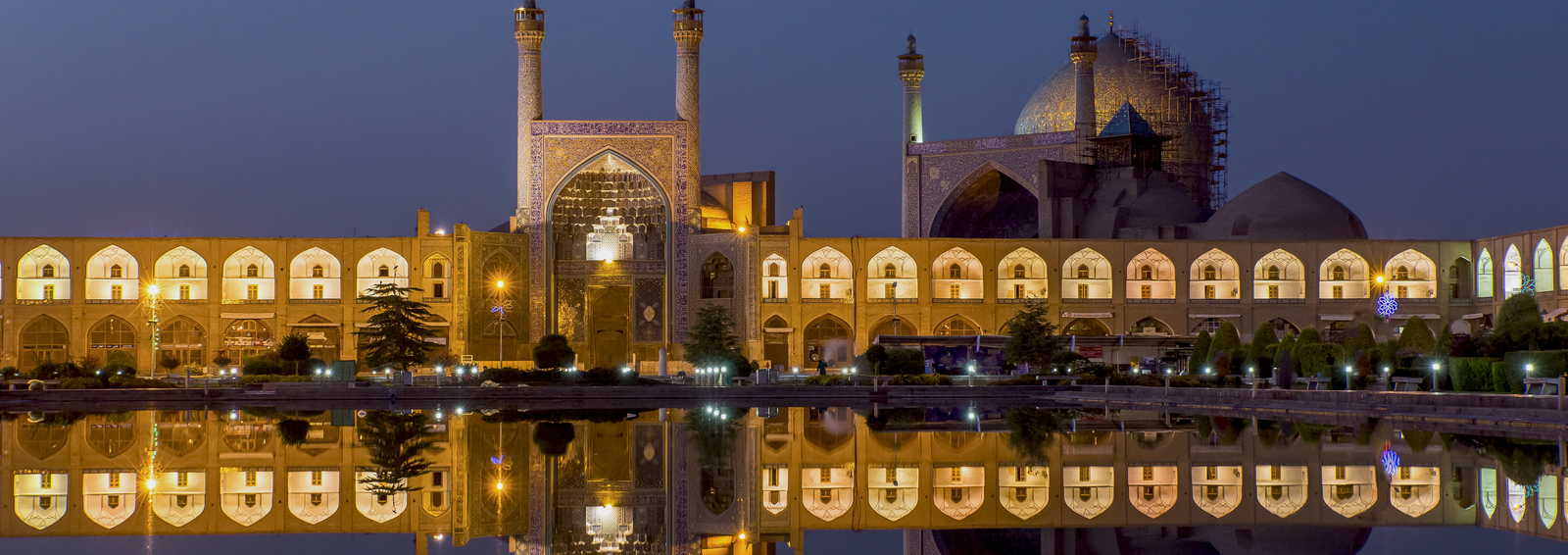The Shah Mosque in Isfahan, Iran