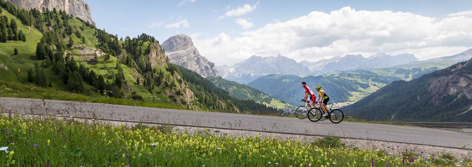 Cycling through the alps