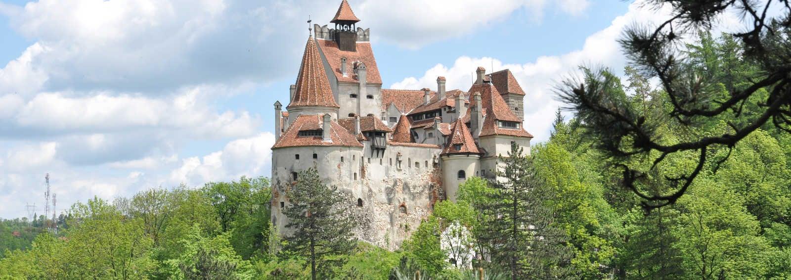 Count Dracula's castle; Bran Castle, Romania