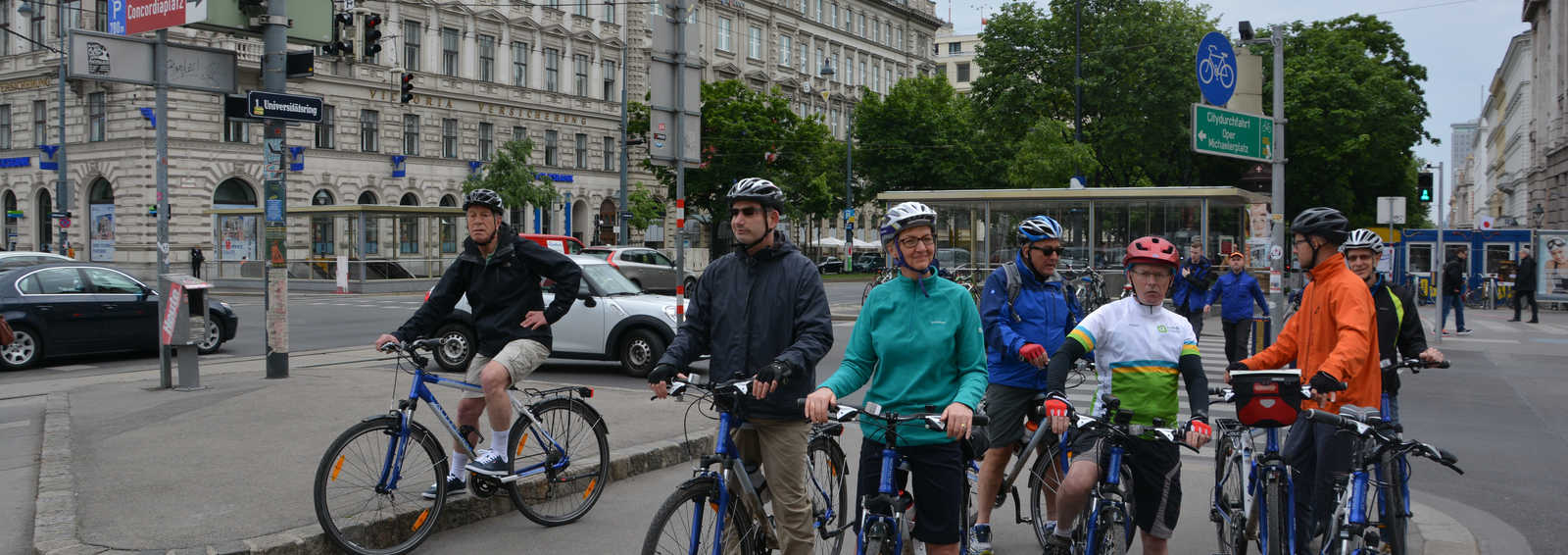 Cycling in Vienna, Austria