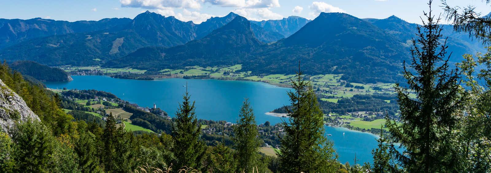 Wolfgangsee lake, Salzkammergut, Austria