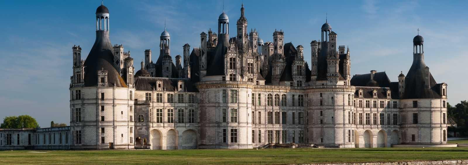 Chateau at Chambord, France