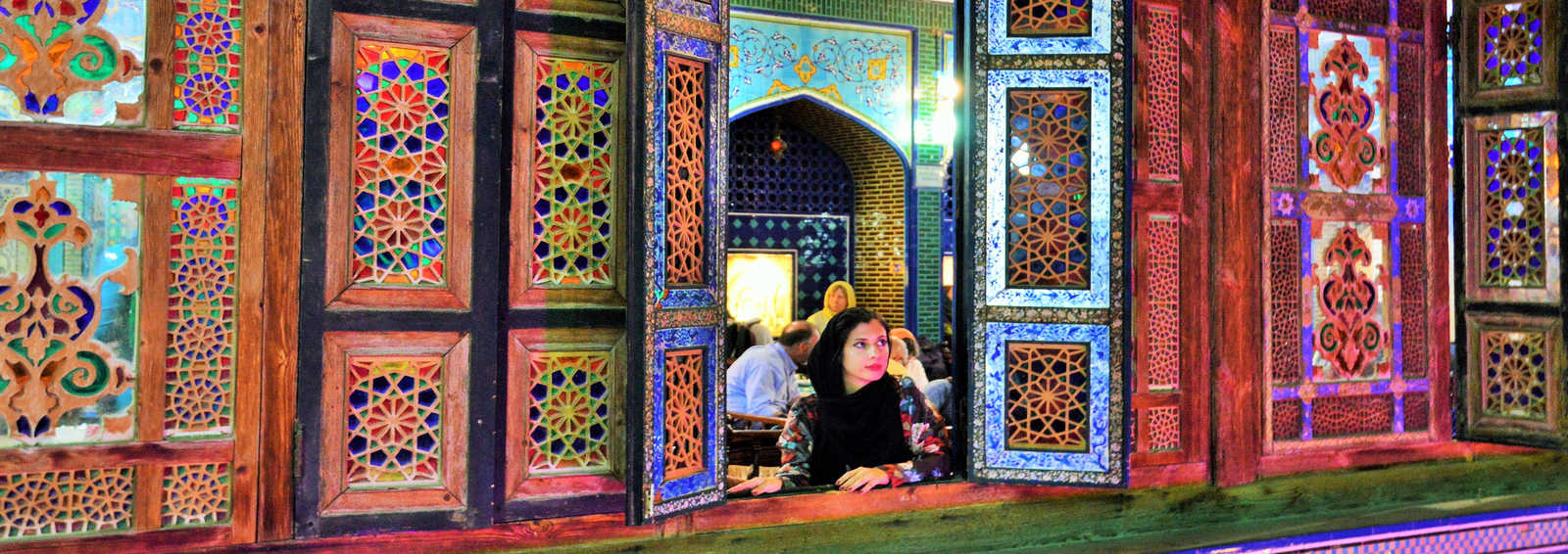 Gazing, Iran