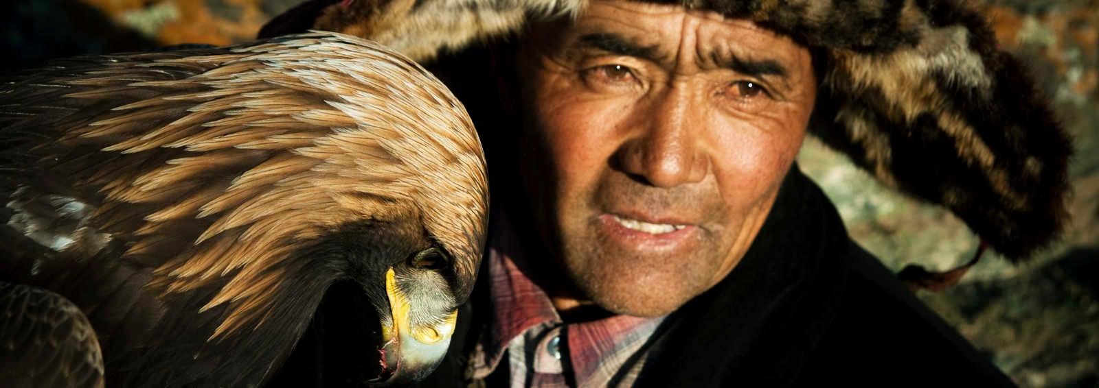 Eagle hunter, Mongolia