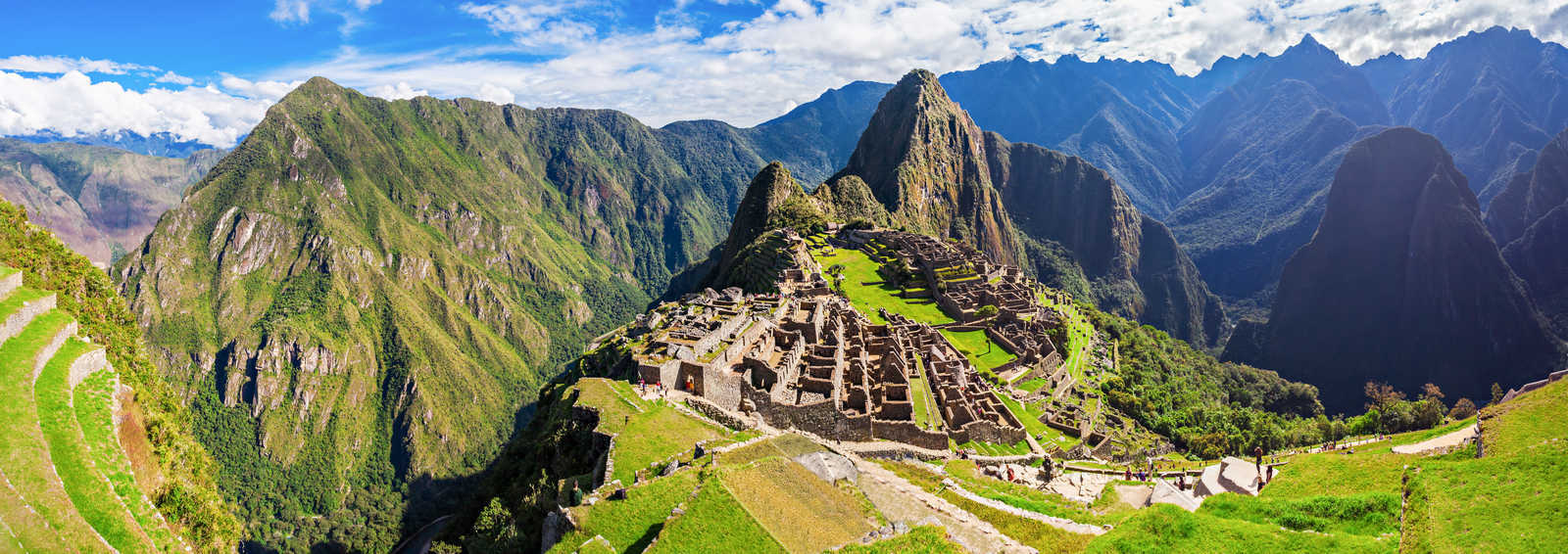 Machu Picchu, one of the New Seven Wonders of the World, Peru