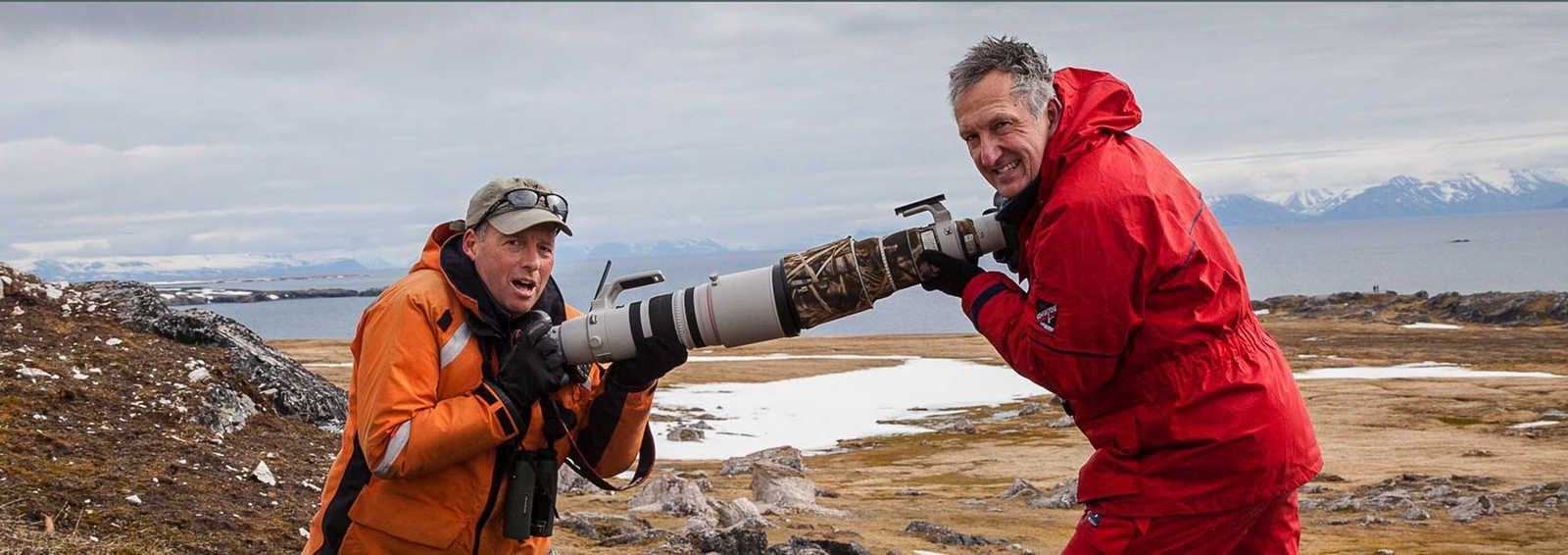 Mark Carwardine and Paul Goldstein present Pole to Pole