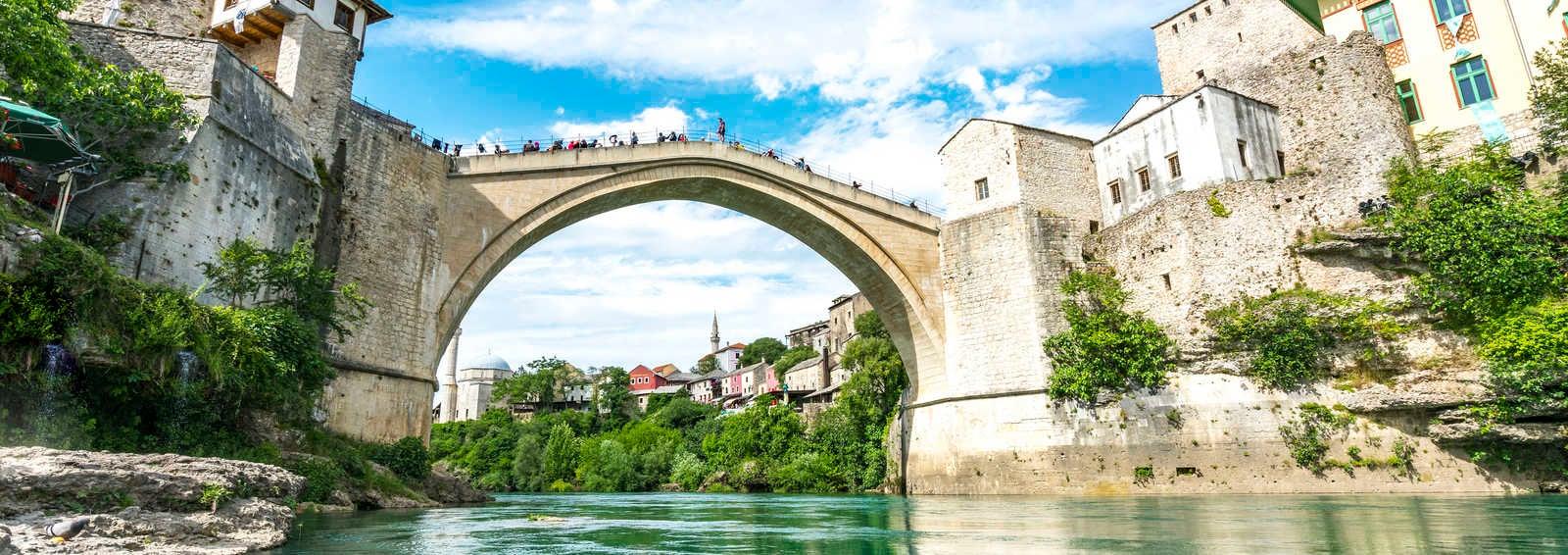 Stari Most, Mostar, Bosnia & Herzegovina