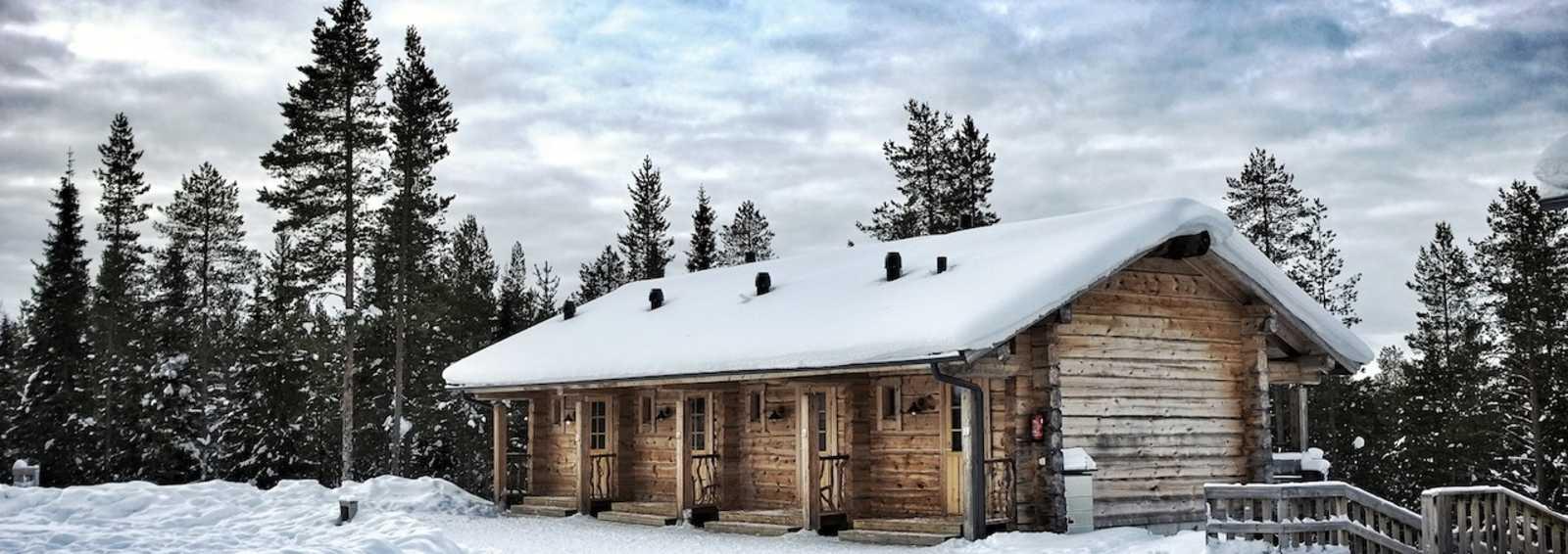 Basecamp Oulanka's log cabins